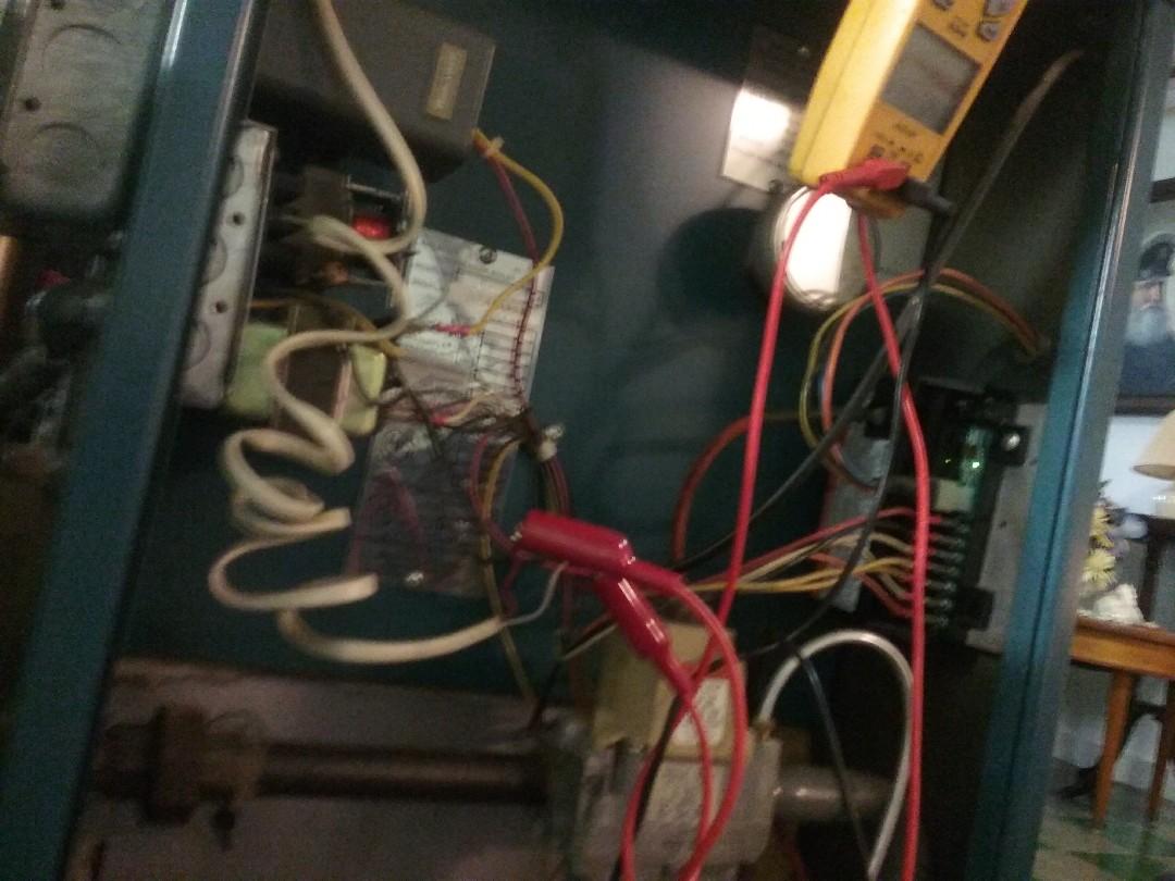 Worcester, MA - Service of a Burnham gas boiler