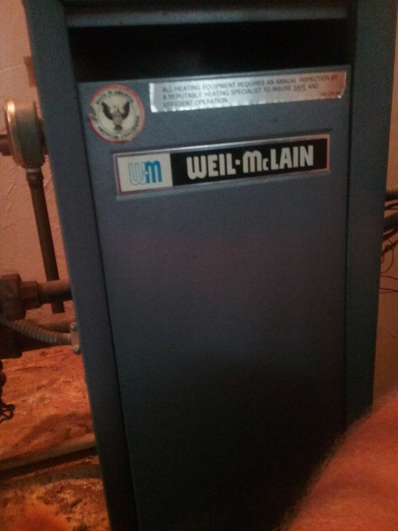 Worcester, MA - Service on a weil McClain gas water system