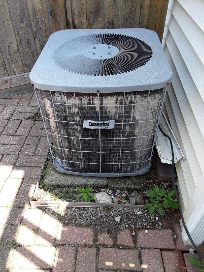 Shrewsbury, MA - Clean and check Aircoaire AC unit