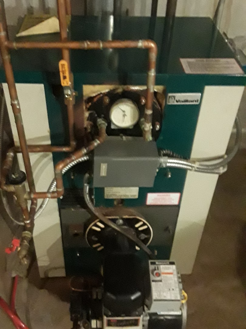 Leominster, MA - Clean and check Vaillant oil boiler
