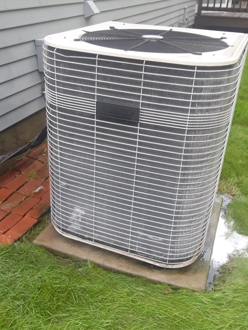 Clinton, MA - Clean and check Lennox AC unit