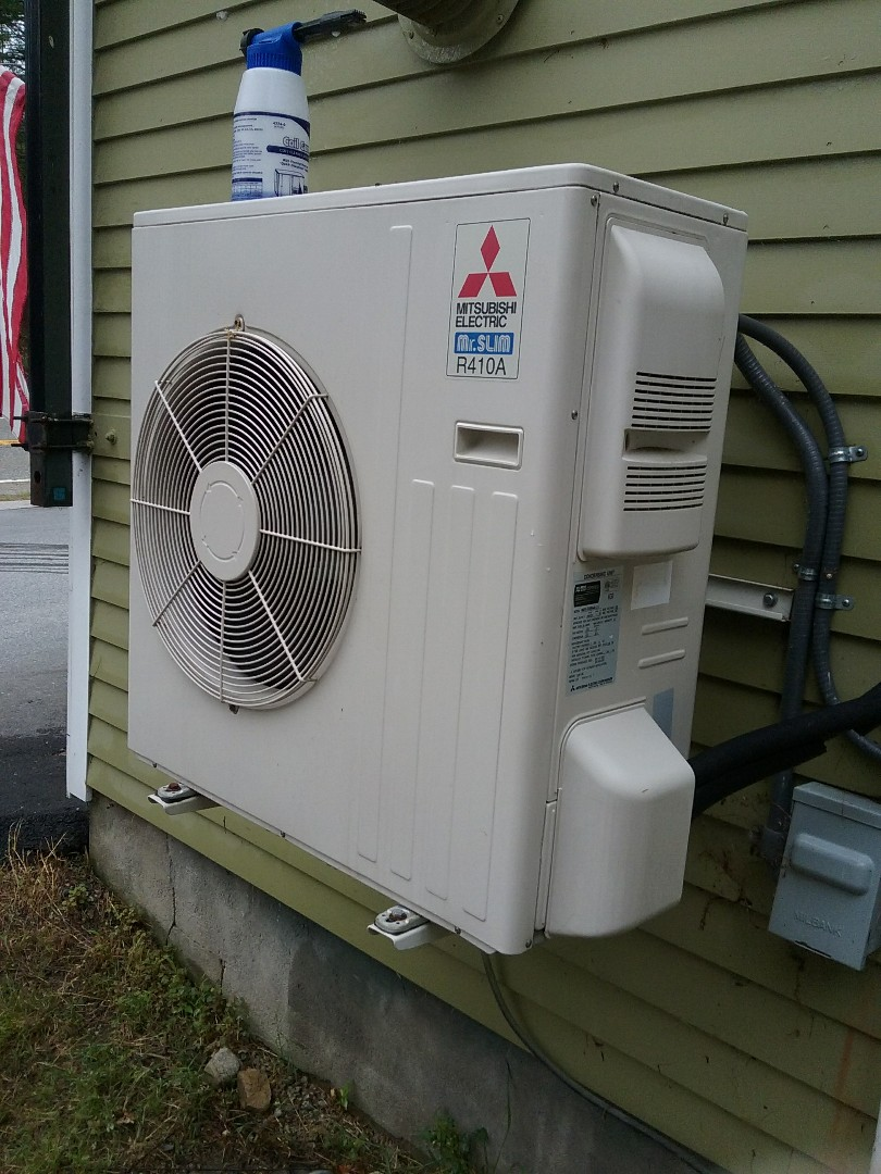 Upton, MA - Srrvice of a Mitsubishi ductless system