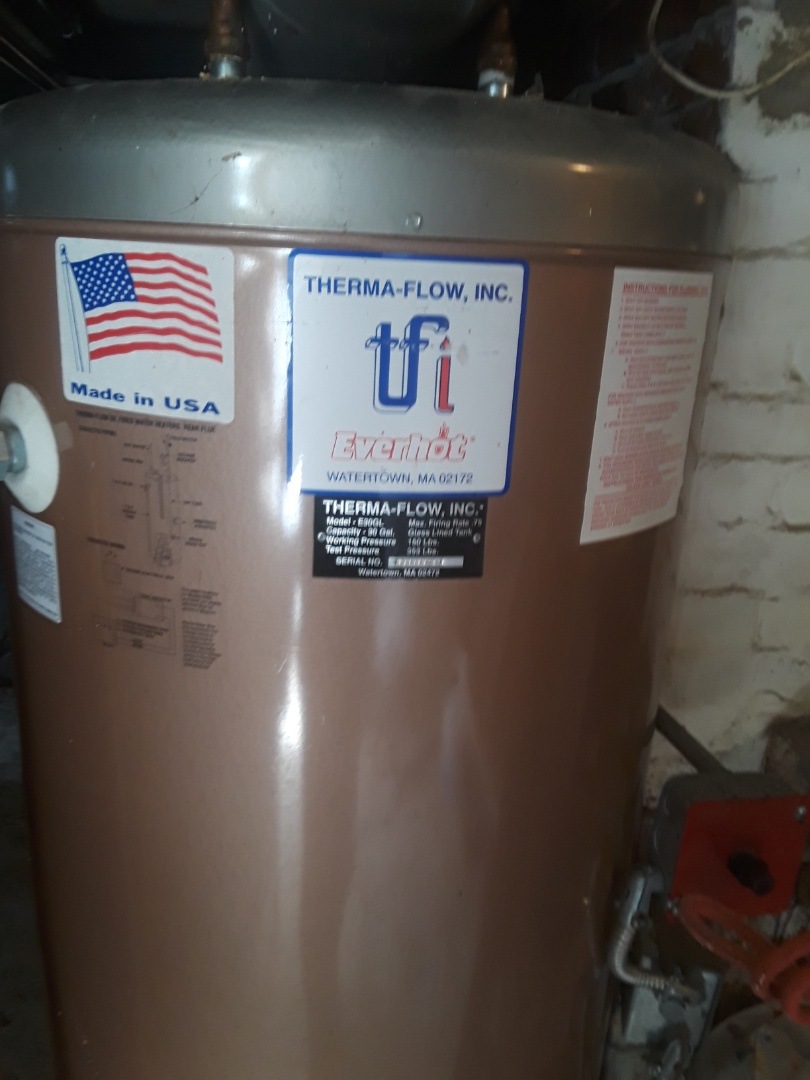 Acton, MA - Repair on TFI oil fired hot water heater