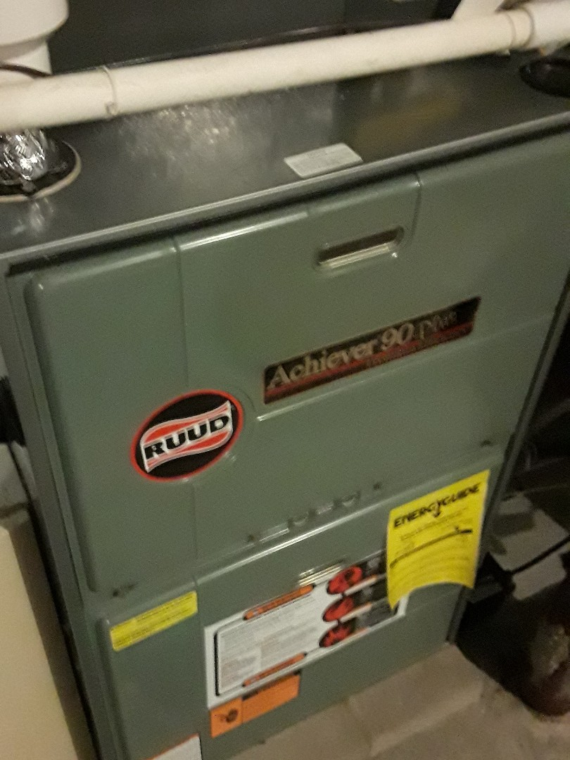 Northbridge, MA - Clean and check Ruud gas furnaces