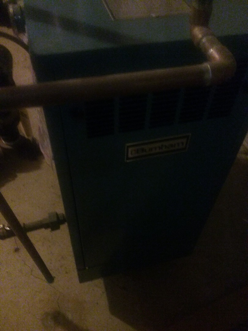 Upton, MA - Service of a burnham gas water boiler