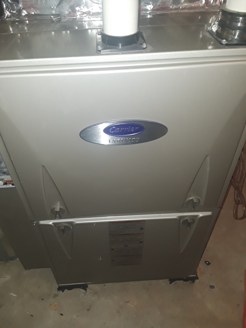 Westborough, MA - Clean and check Carrier gas furnace