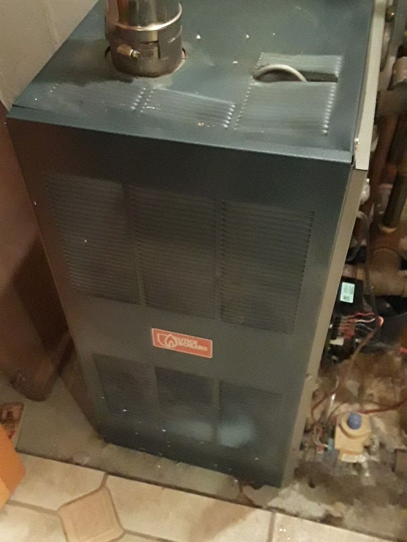 Westborough, MA - Clean and check Utica gas boiler