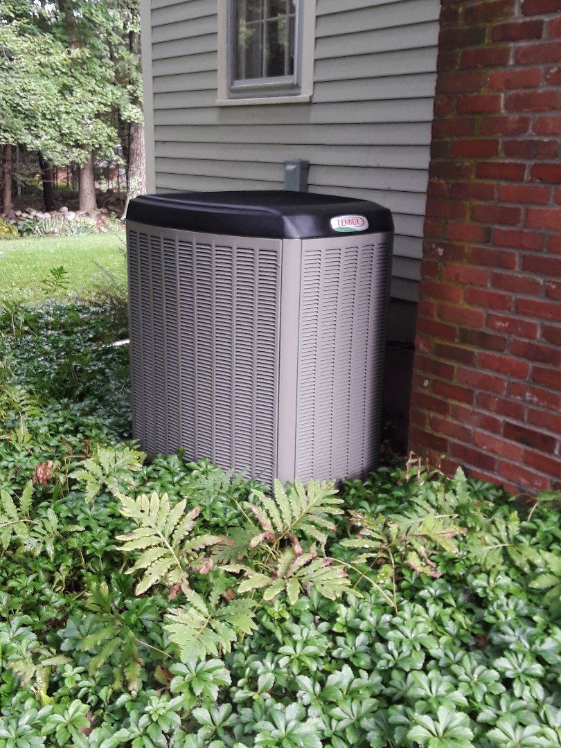 Acton, MA - Clean and check Lennox AC unit