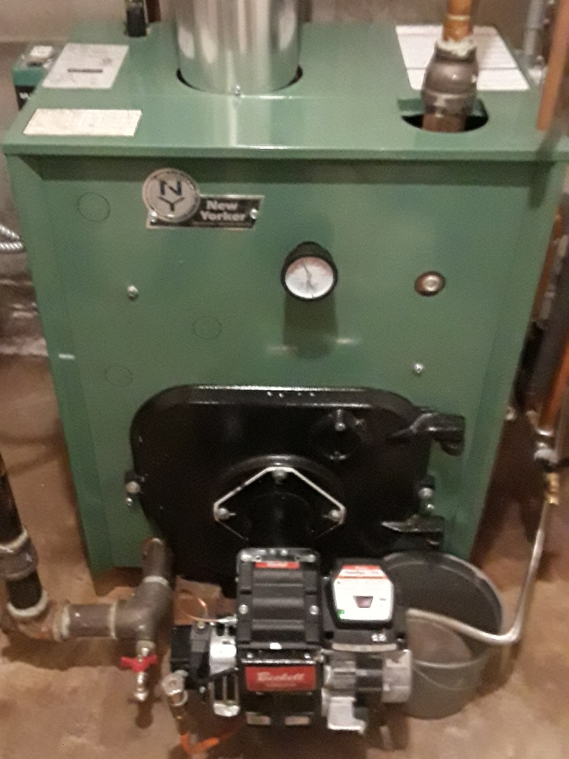 Leominster, MA - Clean and check New Yorker oil boiler