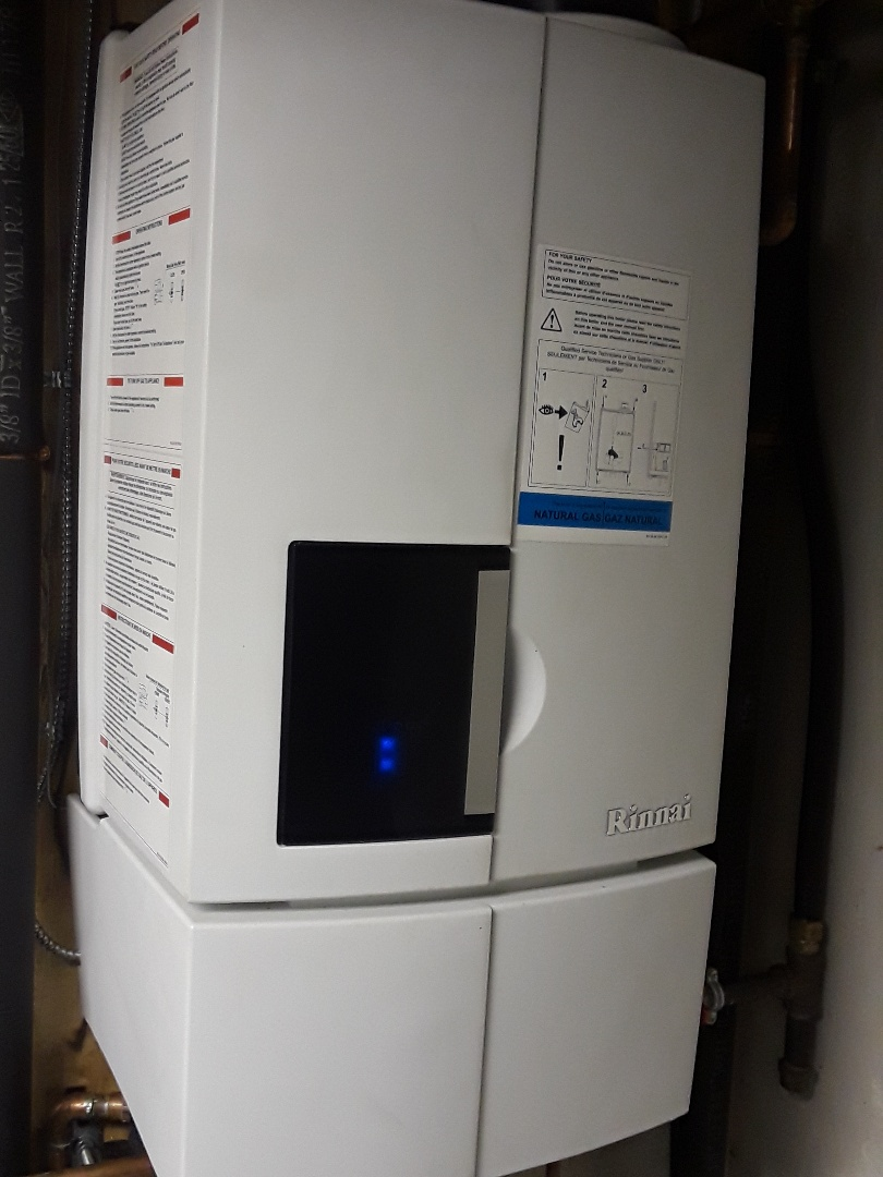 Millbury, MA - Clean and check Rinnai gas boiler