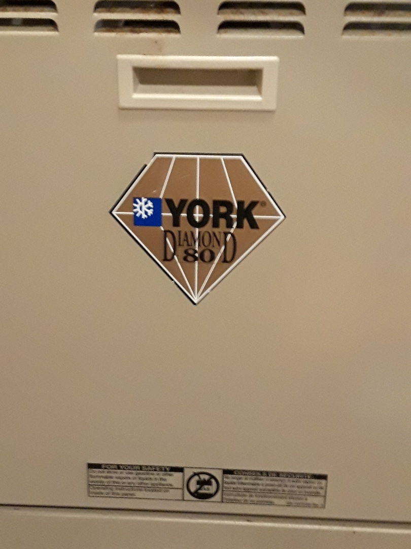 Grafton, MA - Clean and check York gas furnace