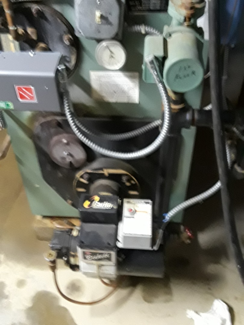 Leominster, MA - Clean and check Peerless oil boiler