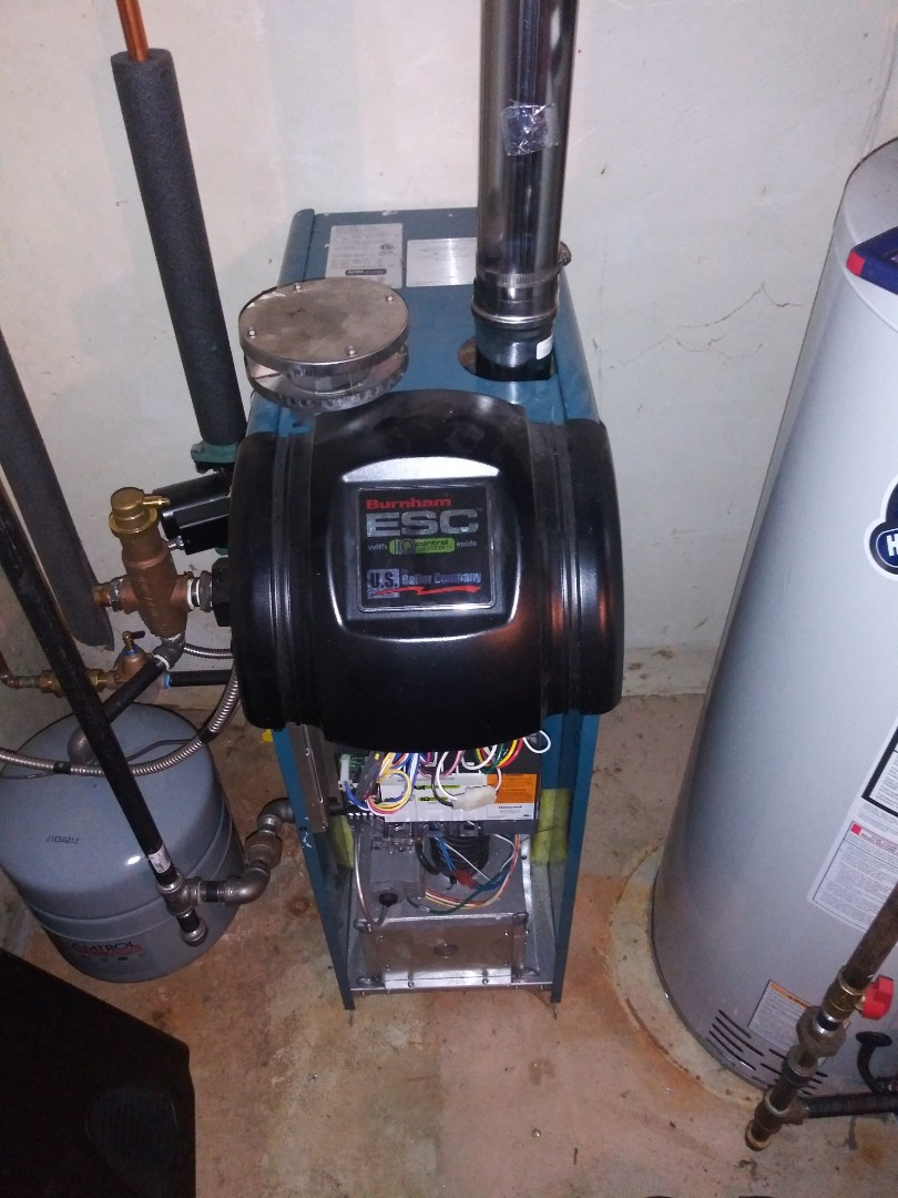 Holden, MA - Servicing burnham boiler