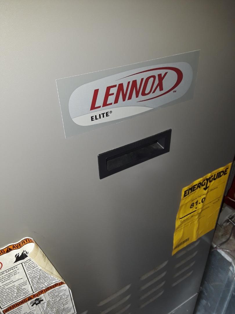Auburn, MA - Clean and check Lennox oil furnace
