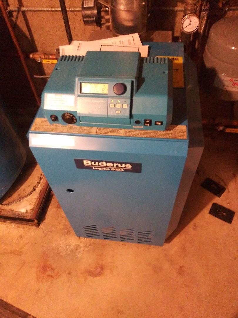 Shrewsbury, MA - Servicing boderus boiler