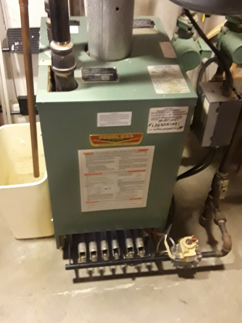 Leominster, MA - Clean and check Peerless gas heating unit