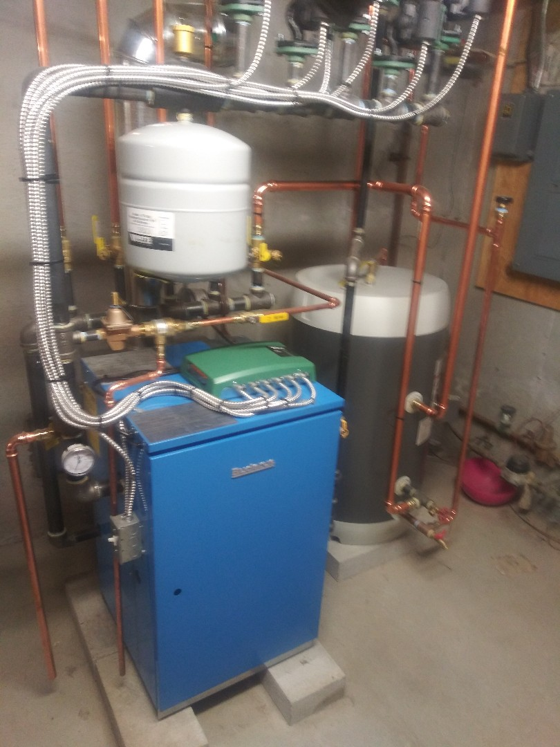 Grafton, MA - Servicing Buderus boiler