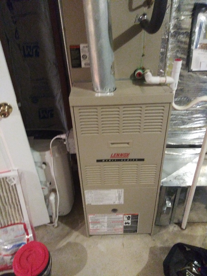 Northbridge, MA - Servicing lennox furnace