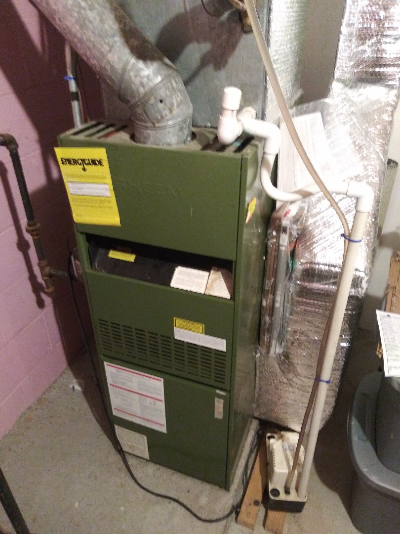 Northbridge, MA - Servicing Rheem furnace