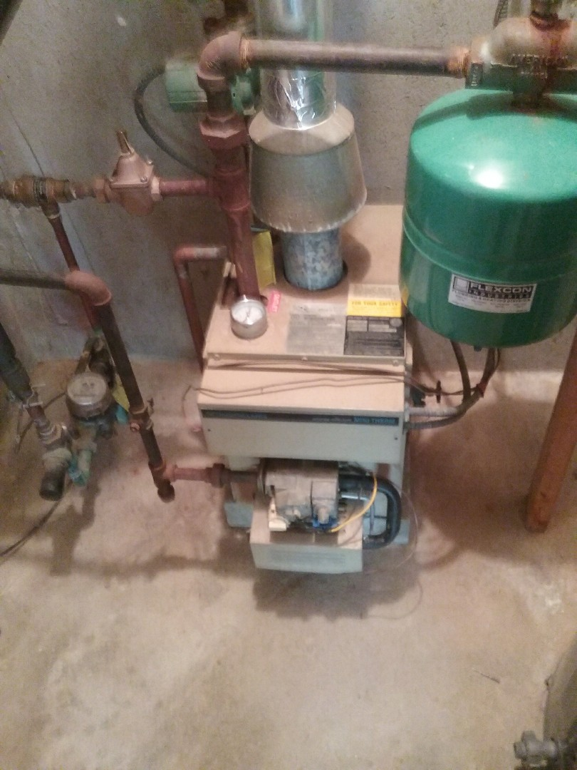 Auburn, MA - Service of a teledyne laars gas water boiler