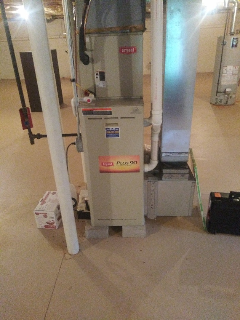 Westborough, MA - Servicing bryant furnace