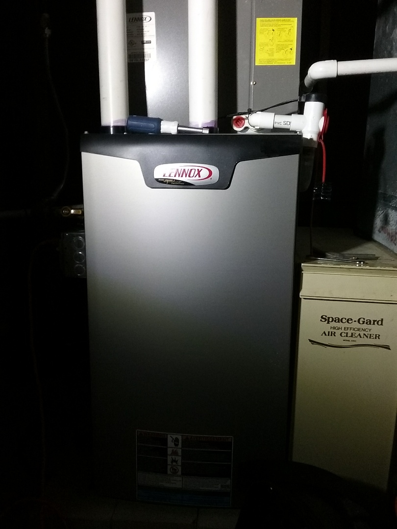 Worcester, MA - Service of a lennox air conditioning system