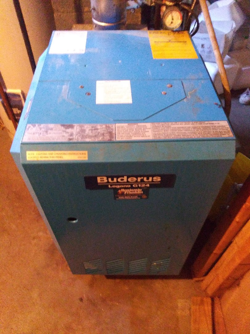 Worcester, MA - Servicing buderus boiler