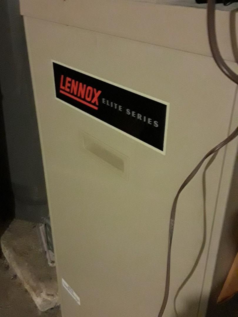 Fitchburg, MA - Heat repair on Lennox gas furnace