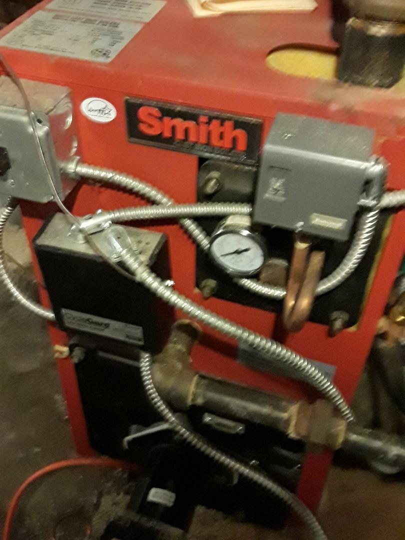 Fitchburg, MA - Heat repair on a HB Smith oil steam boiler