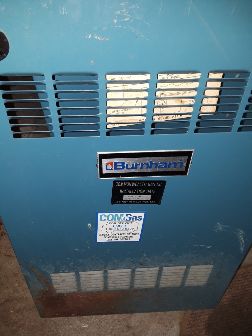 Worcester, MA - Heat repair on a Burnham gas boiler