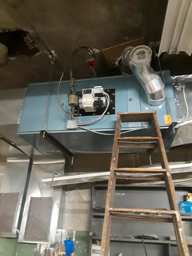 Fitchburg, MA - Heat repair on a Metromatic oil furnace