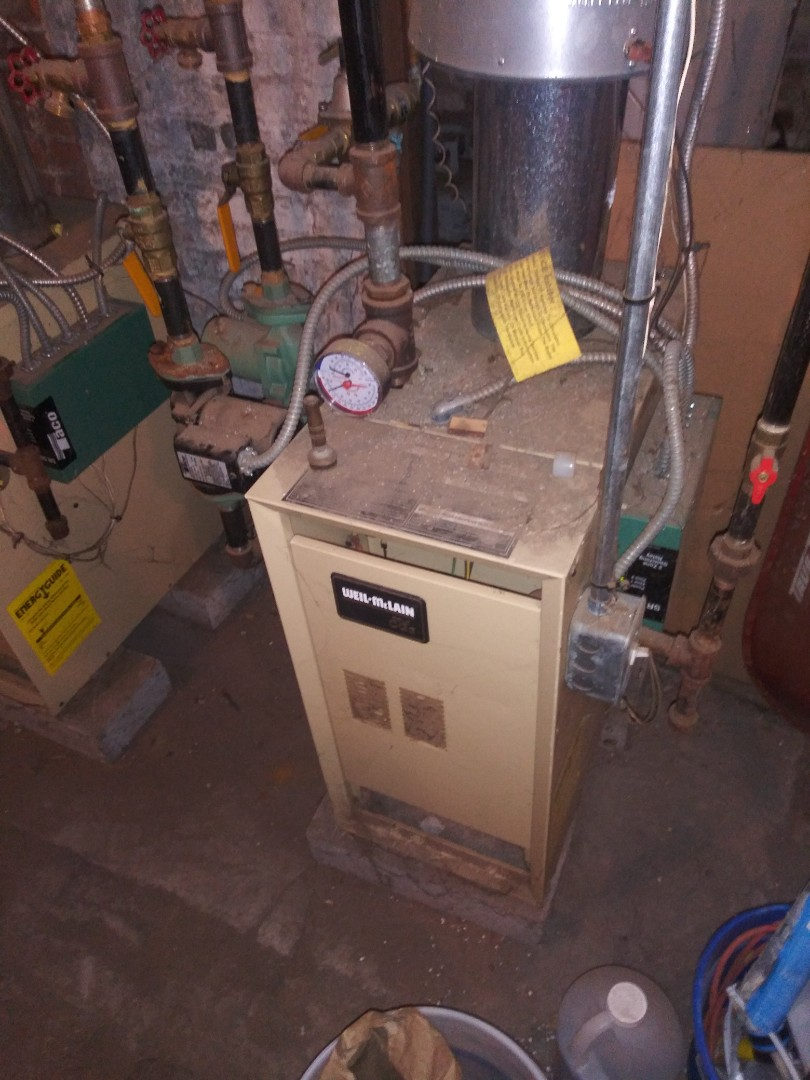 Clinton, MA - Servicing weil mclain boiler