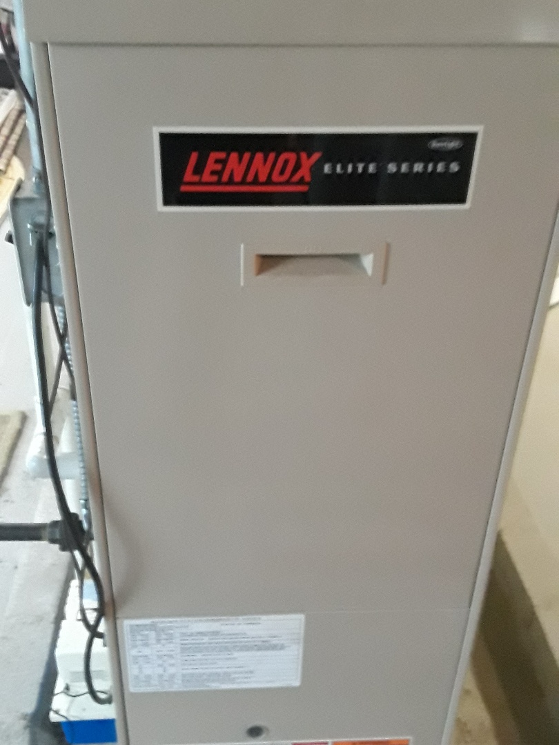 Fitchburg, MA - Clean and check Lennox gas furnace