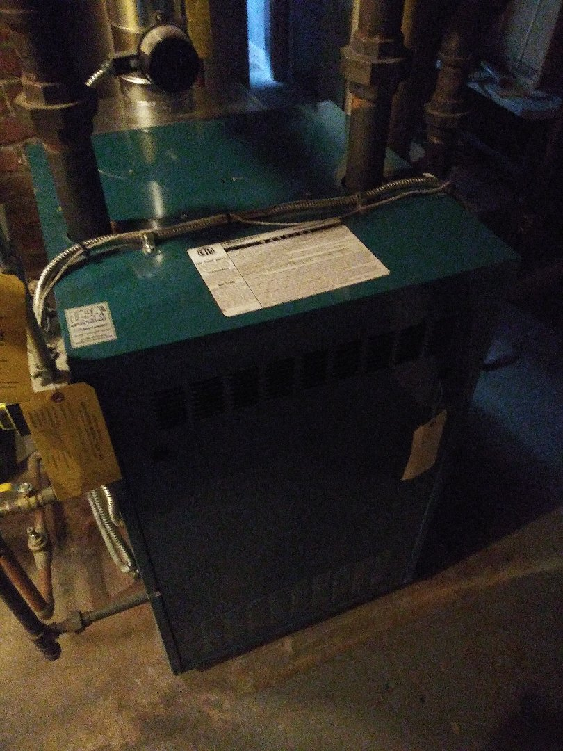 Hopedale, MA - Servicing Burnham boiler