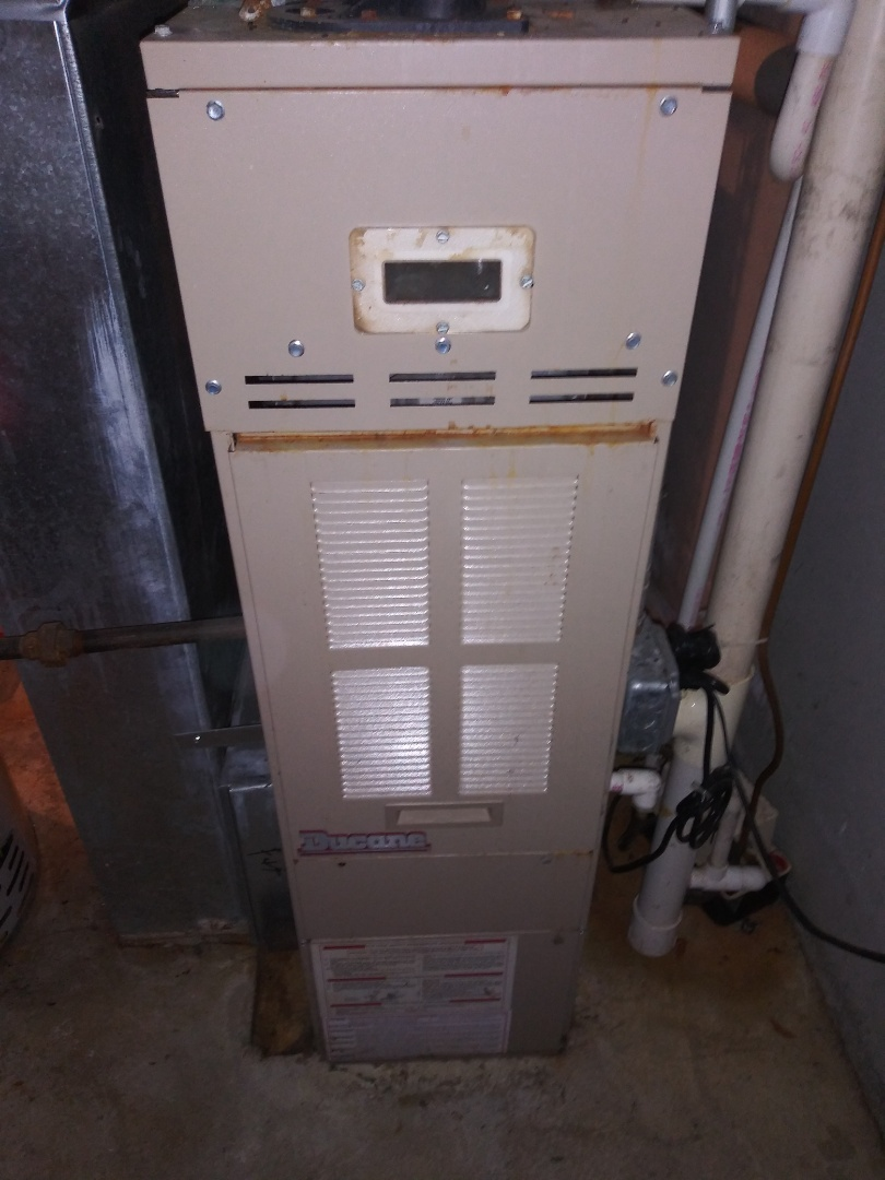 Westborough, MA - Servicing ducane furnace