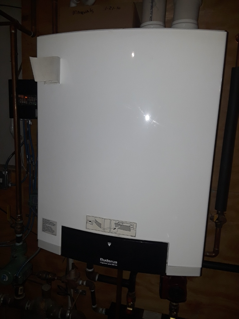 Shirley, MA - Clean and check Buderus gas boiler