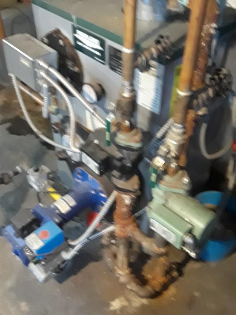 Leominster, MA - Heat repair on a Peerless gas boiler