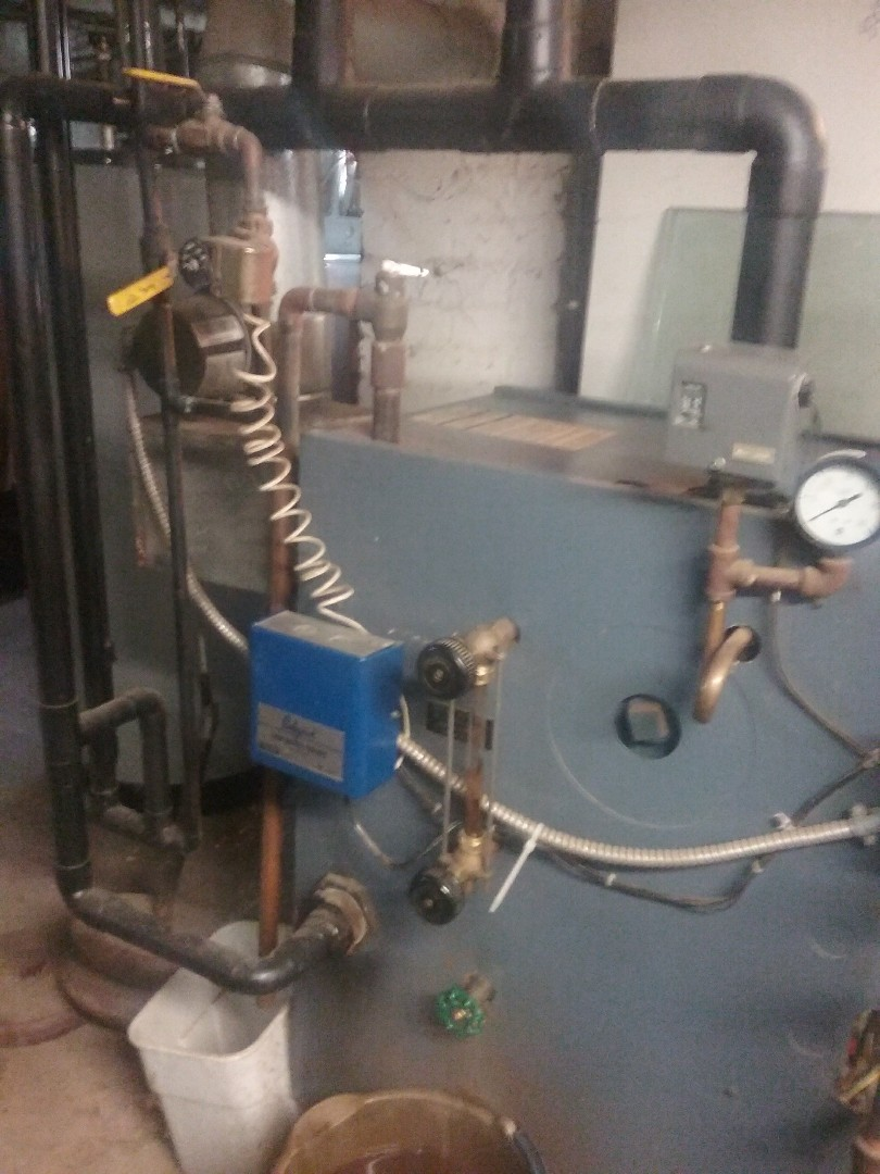 Worcester, MA - Service of a weil McClain gas steam boiler