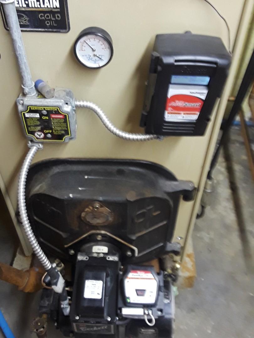 Framingham, MA - Clean and check Weil McLain oil boiler