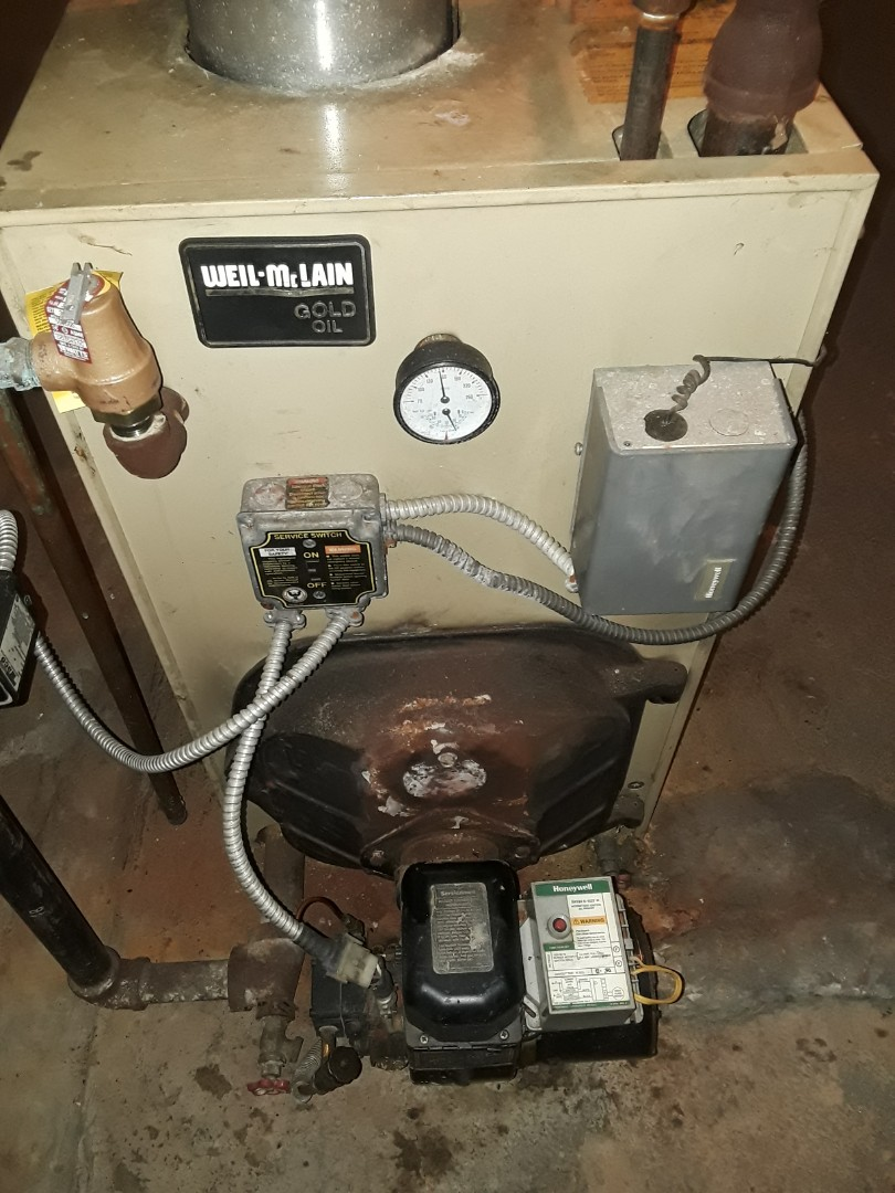 Westminster, MA - Clean and check Weil Mclain oil boiler
