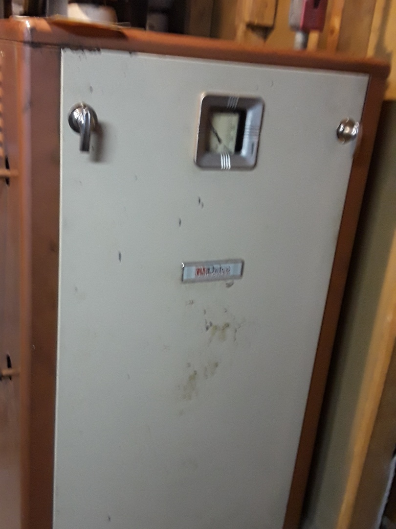 Leominster, MA - Clean and check Delco oil steam boiler