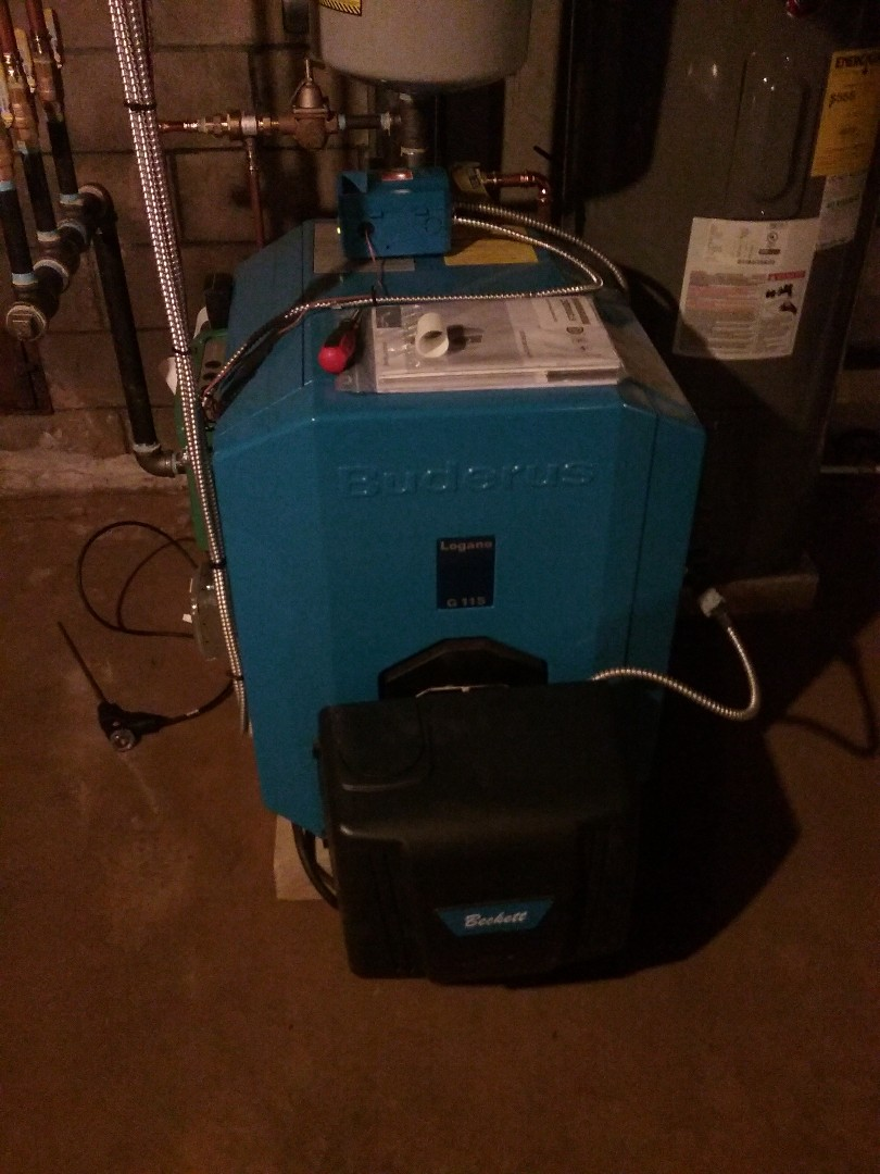 Uxbridge, MA - Commissioning of a buderus oil boiler