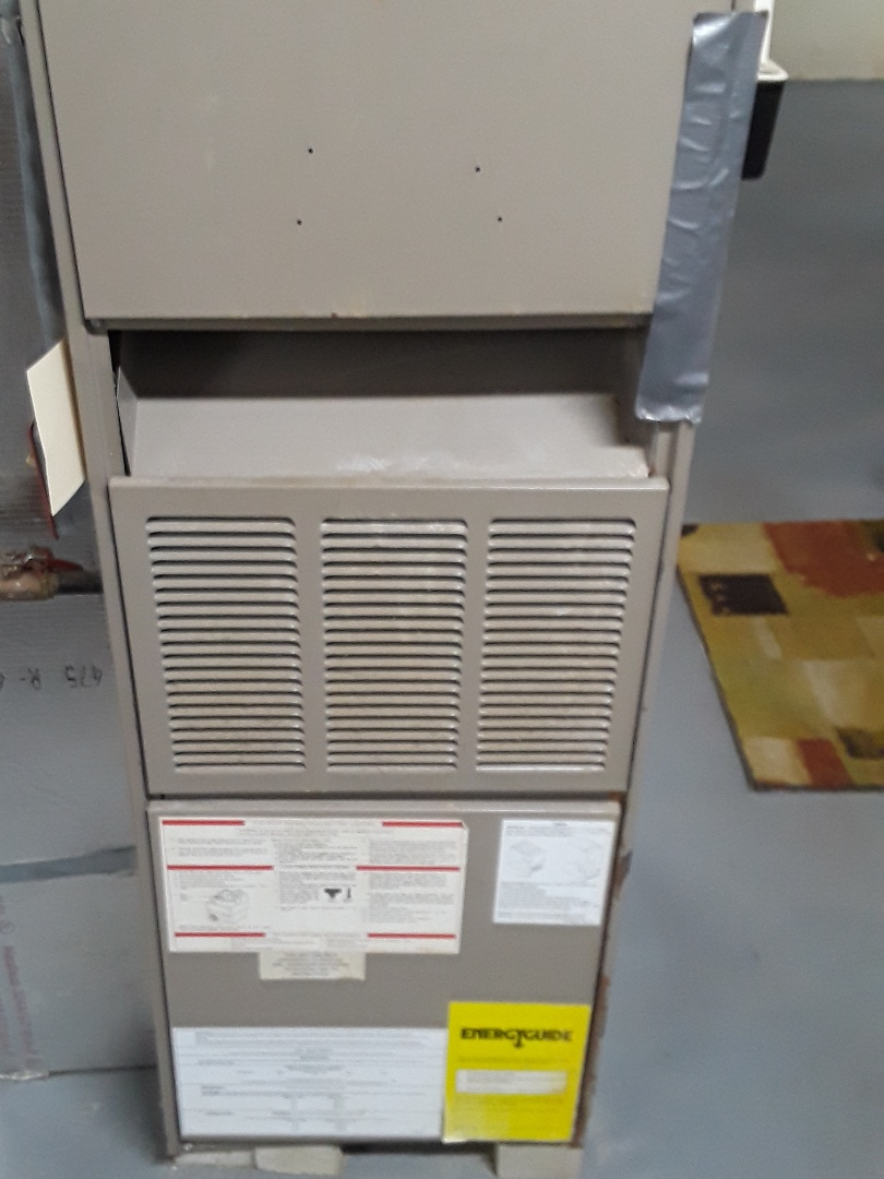 Leominster, MA - Clean and check Goodman gas furnace