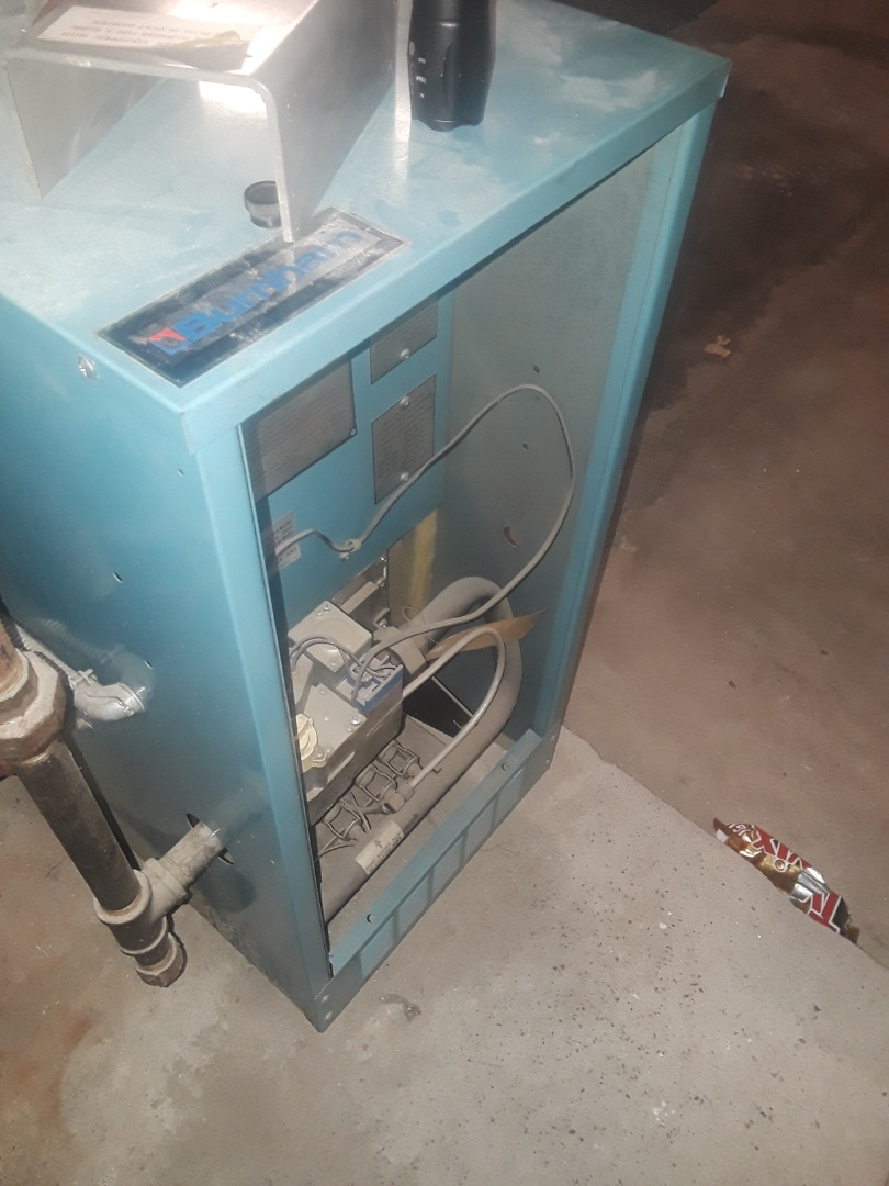 Leominster, MA - Heat repair on Burnham gas boiler