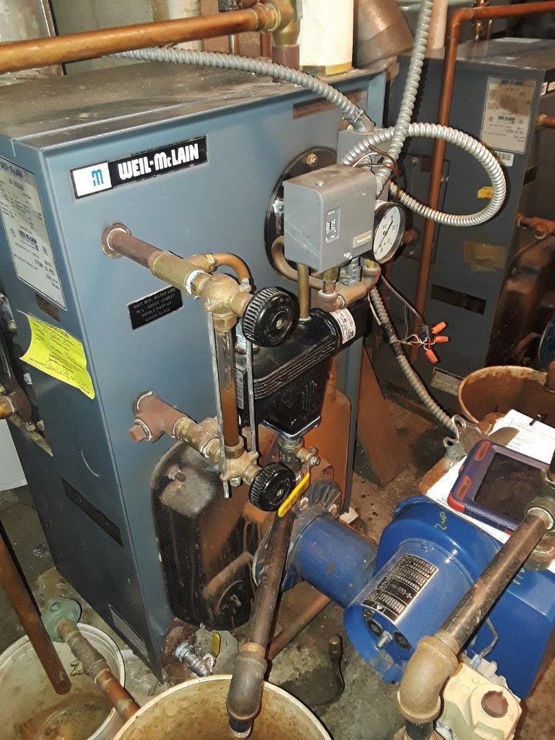 Worcester, MA - Heat repair on a Peerless gas boiler
