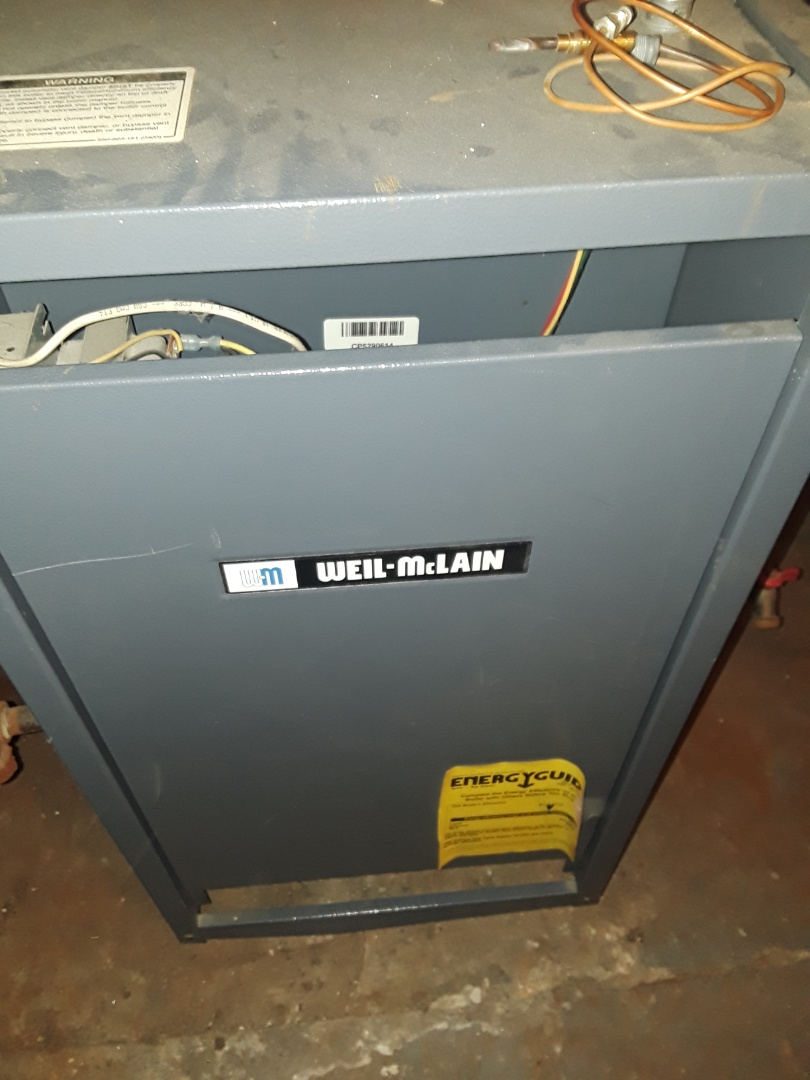 Grafton, MA - Heat repair on a Weil McLain gas boiler