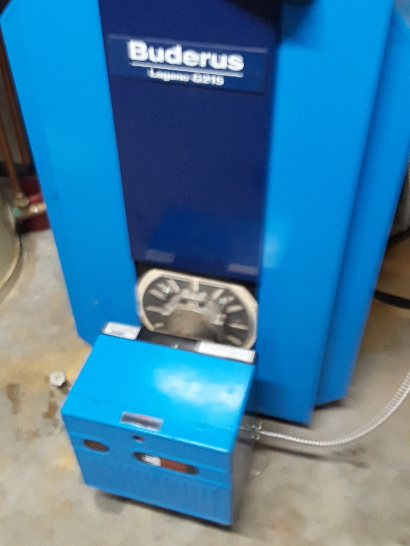 Lunenburg, MA - Clean and Buderus oil boiler
