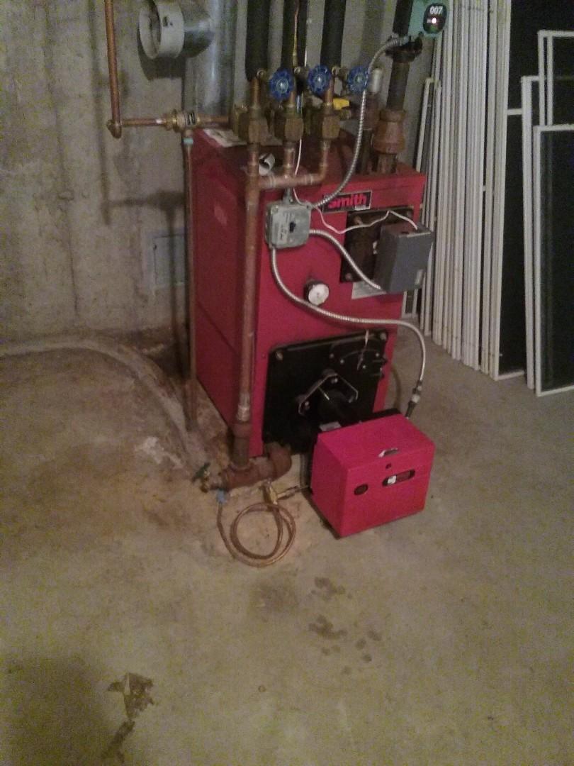 Boylston, MA - Service on a riello oil burner
