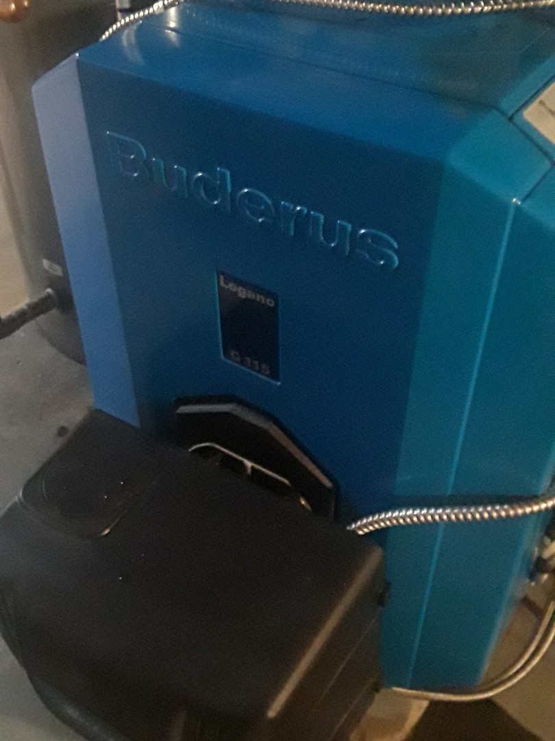 Shrewsbury, MA - Clean and check Buderus oil boiler
