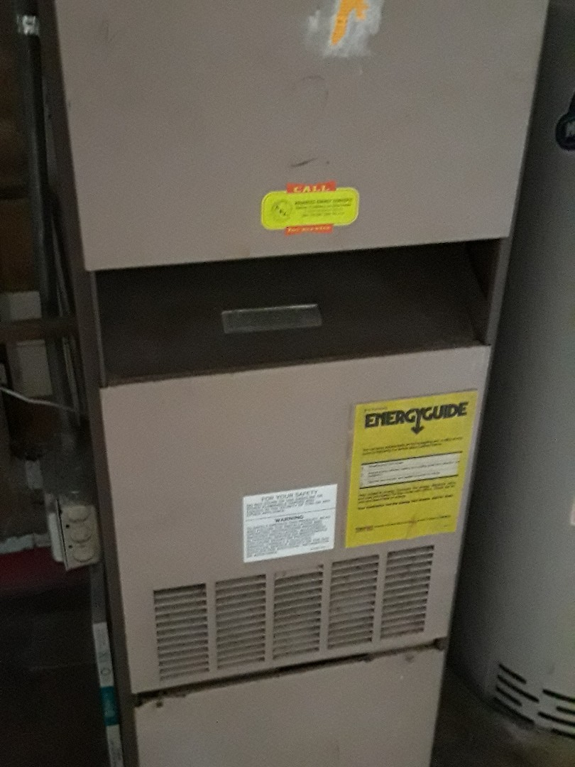 Fitchburg, MA - Clean and check Amana gas Furnace